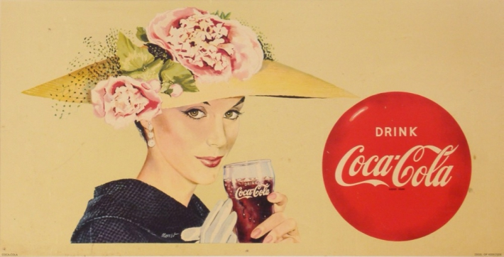 En vente :  DRINK COCAL COLA  AUDREY HEPBURN