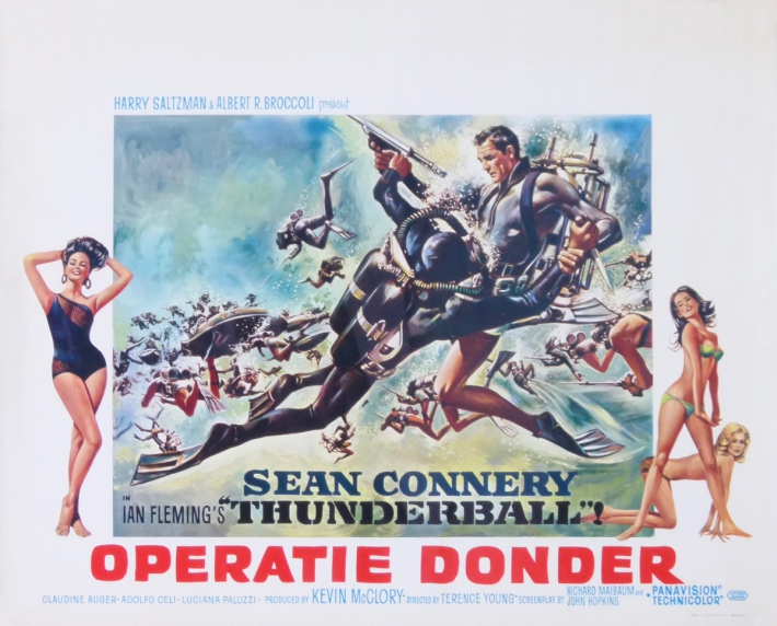 En vente :  JAMES BOND 007 OPERATION TONNERRE OPERATIE DONDER