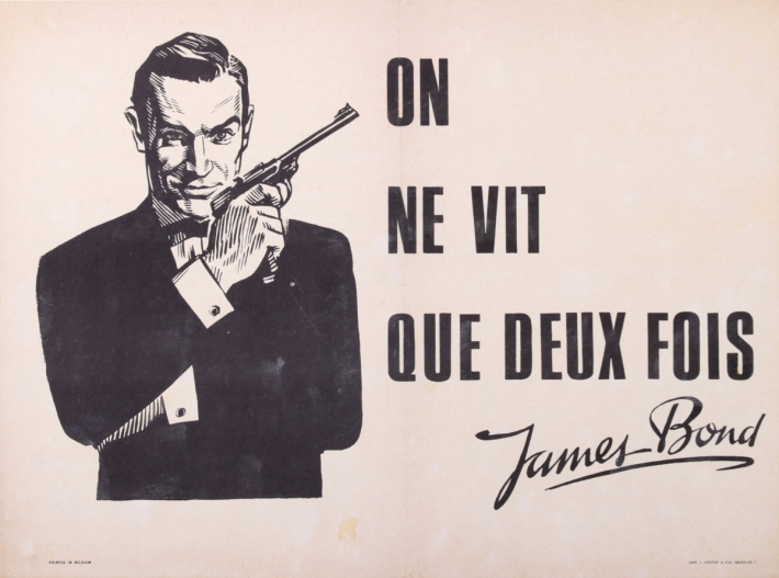 En vente :  JAMES BOND - ON NE VIT QUE DEUX FOIS