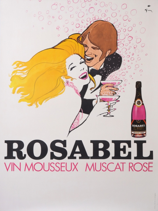 En vente :  ROSABEL VIN MOUSSEUX MUSCAT ROSE - BUBBLE WINE