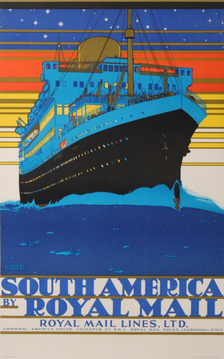 En vente :  ROYAL MAIL LINES - SOUTH AMERICA  MARTIME BOAT COMPANY