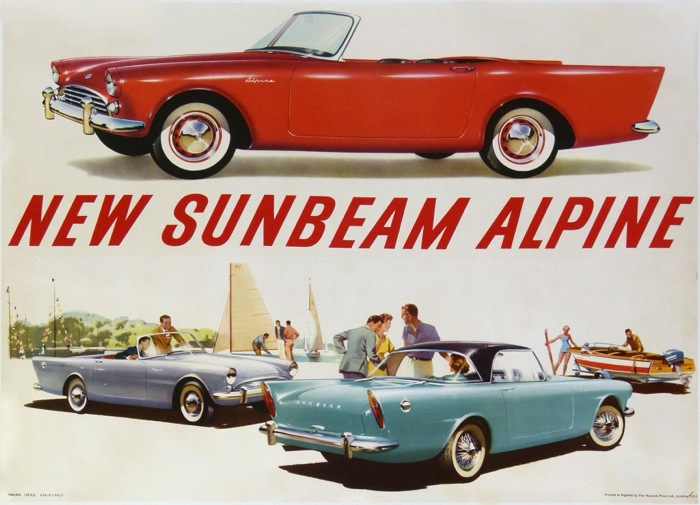 En vente :  NEW SUNBEAM ALPINE
