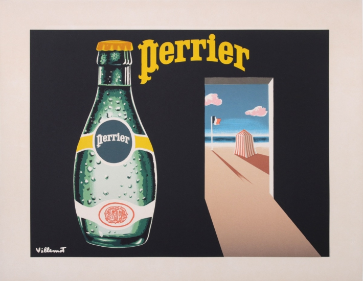 En vente :  PERRIER THE FRENCH BEACH BUBBLE WATER