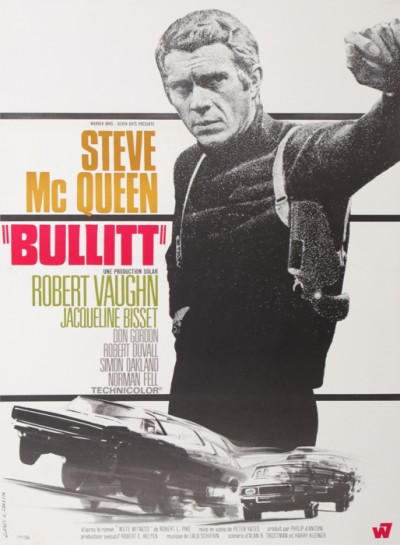 En vente :  BULLITT STEVE MAC QUEEN SMALL SIZE