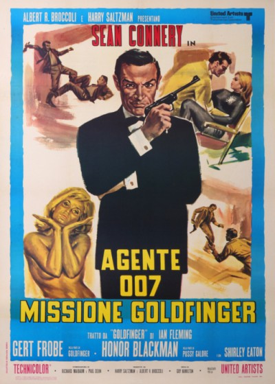 En vente :  JAMES BOND AGENTE 007 FILM MISSIONE GOLDFINGER