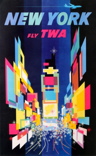 En vente :  NEW YORK  FLY TWA