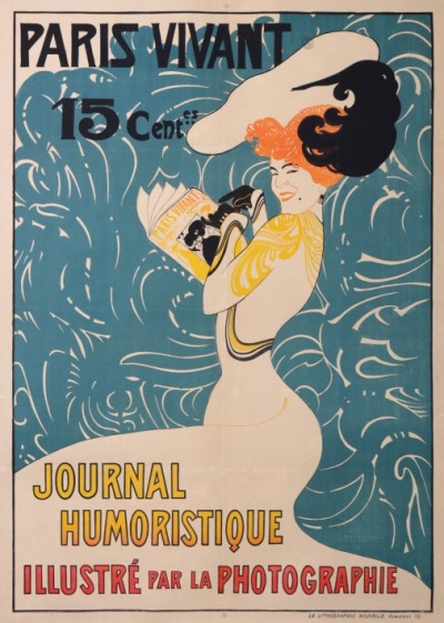 En vente :  PARIS VIVANT JOURNAL HUMORISTIQUE  ILLUSTRÉ PAR LA PHOTOGRAPHIE 15 Cts