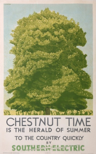 En vente :  CHESNUT TIME IS HERALD OF SUMMER TO THE COUNTRY QUICKLY  BY SOUTHERN ELECTRIC