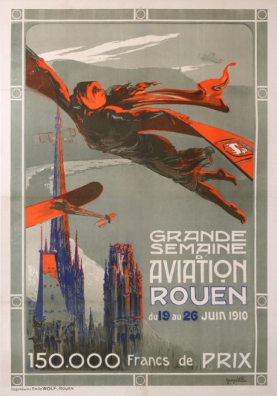 En vente :  GRANDE SEMAINE AVIATION ROUEN 1910
