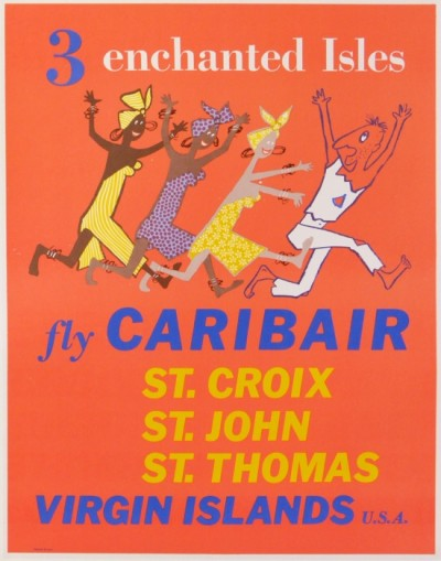 En vente :  FLY CARIBAIR ST CROIX - ST JOHN - ST THOMAS - VIRGIN ILSLANDS USA