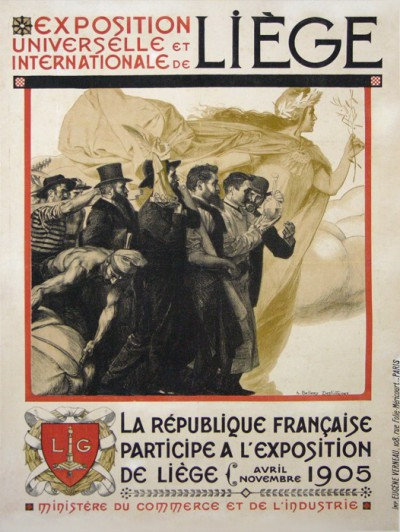 En vente :  EXPOSITION  UNIVERSELLE INTERNATIONALE DE  LIEGE 1905