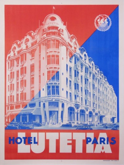 En vente :  GRAND HÔTEL LUTETIA PARIS