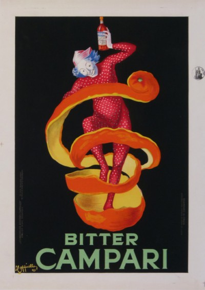 En vente :  BITTER CAMPARI (Spiritello) Small Size