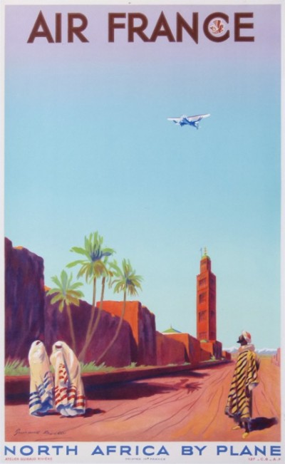 En vente :  AIR FRANCE NORTH AFRICA BY PLANE