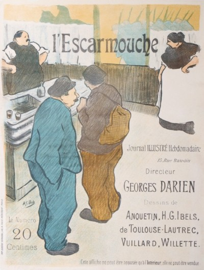 En vente :  L'ESCARMOUCHE JOURNAL ILLUSTRÉ GEORGES DARIEN 20 CTS