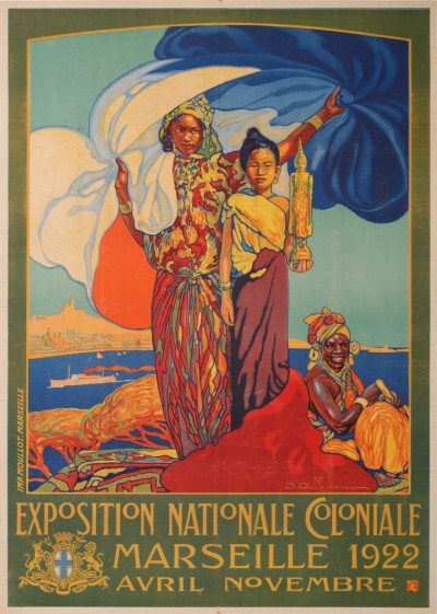 En vente :  EXPOSITION NATIONALE COLONIALE 1922 MARSEILLE