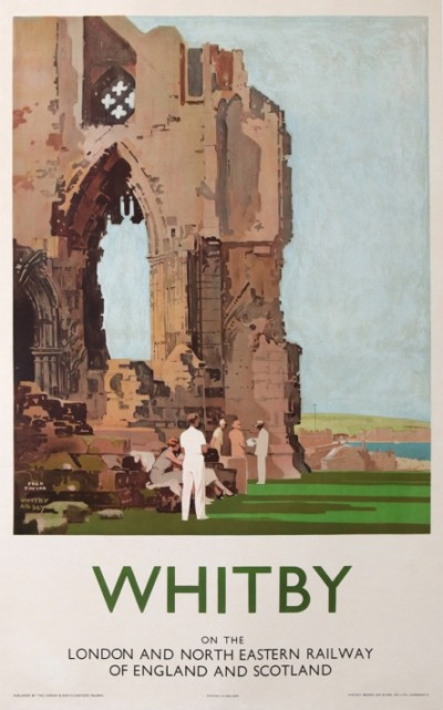 En vente :  WHITBY ABBEY LONDON AND NORTH EASTERN RAILWAY  OF ENGLAND AND SCOTLAND