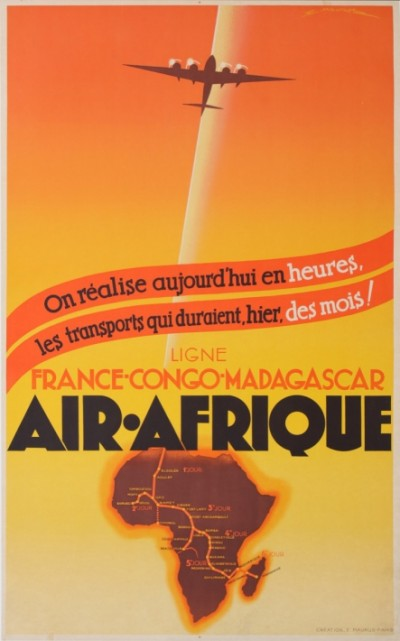 En vente :  AIR AFRIQUE FRANCE-CONGO-MADAGASCAR