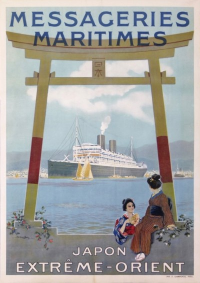 En vente :  MESSAGERIES MARITIMES JAPON EXTREME ORIENT