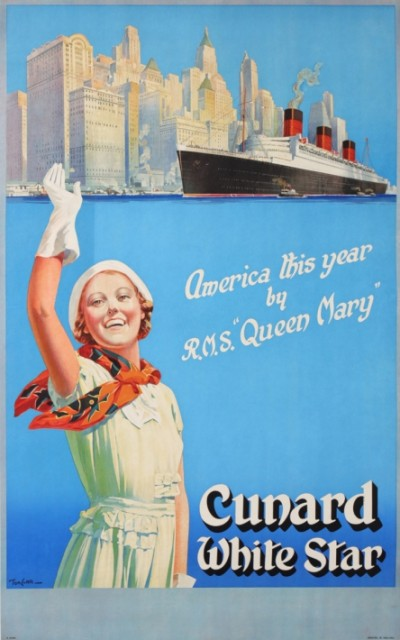 En vente :  UNARD WHITE STAR QUEEN MARY