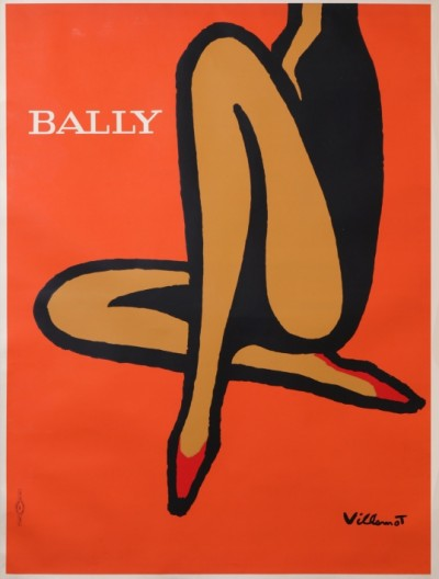En vente :  BALLY ORANGE JAMBES