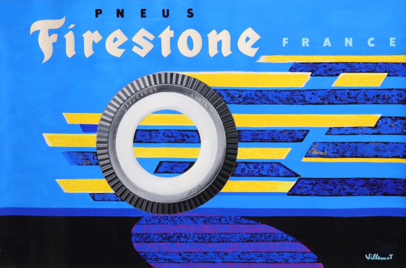 En vente :  FIRESTONE PNEUS AUTOMOBILE  CARS TIRES  MAQUETTE ORIGINALE
