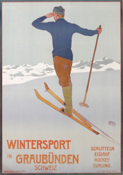 En vente :  WINTERSPORT  IN GRAUBÛNDEN SCHWEIZ SUISSE  SWITZERLAND