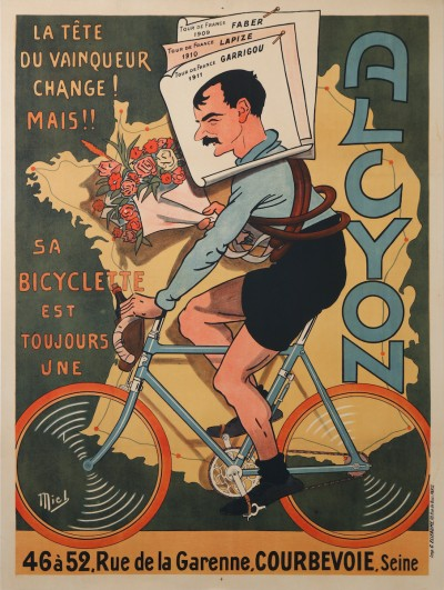 En vente :  ALCYON BICYCLETTE  TOUR DE FRANCE