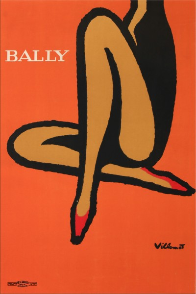 En vente :  BALLY JAMBES ORANGE