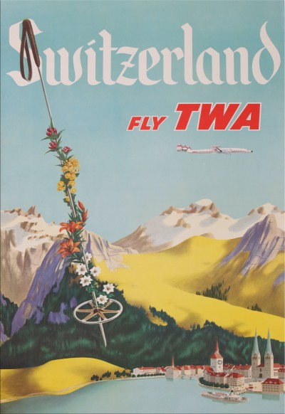 En vente :  SWITZERLAND  FLY TWA