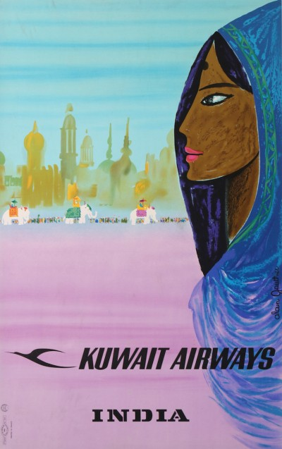 En vente :  KUWAIT AIRWAYS INDIA