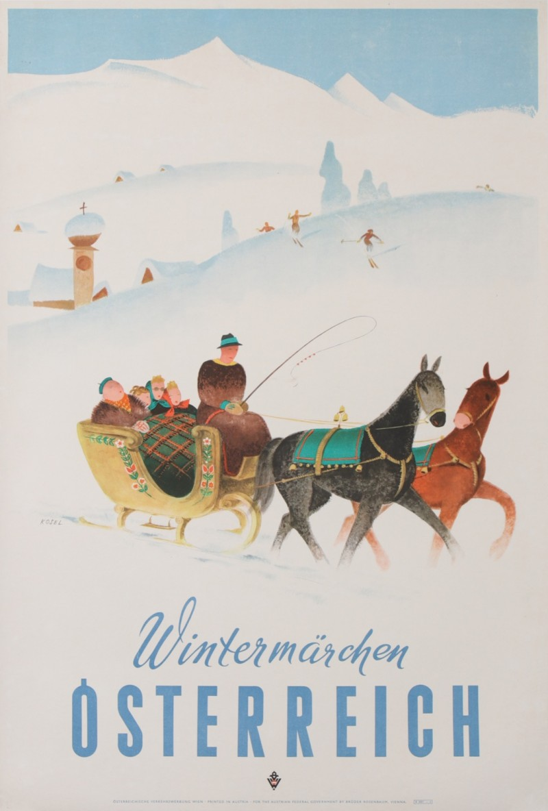En vente :  WINTERMARCHEN OSTERREICH AUTRICHE LAND OF WINTER  SKI