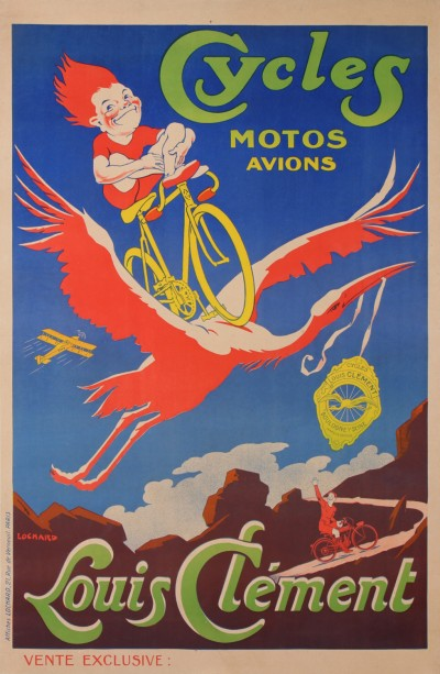 En vente :  LOUIS CLEMENT CYCLES MOTOS AVIONS