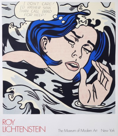 En vente :  LICHTENSTEIN ROY  MUSEUM OF MODERN ART NEW YORK