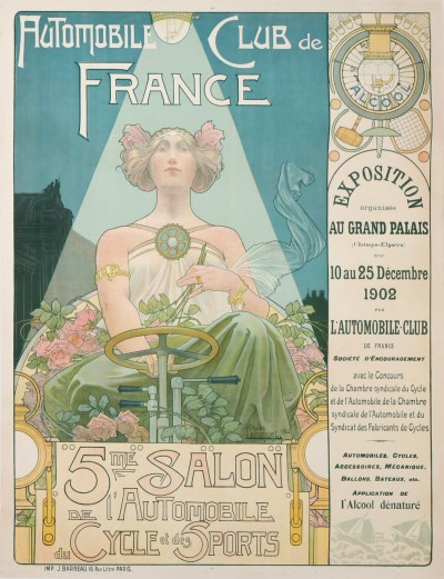 En vente :  AUTOMOBILE CLUB DE FRANCE 5eme SALON DE L'AUTOMOBILE DU CYCLE ET DES SPORTS GRAN