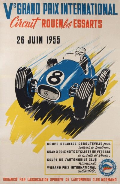 En vente :  Ve GRAND PRIX AUTOMOBILE CIRCUIT ROUEN LES ESSARTS