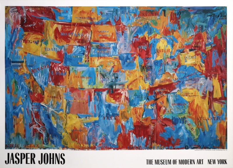 En vente :  MUSEUM OF MODERN ART NEW YORK by JASPER JOHNS