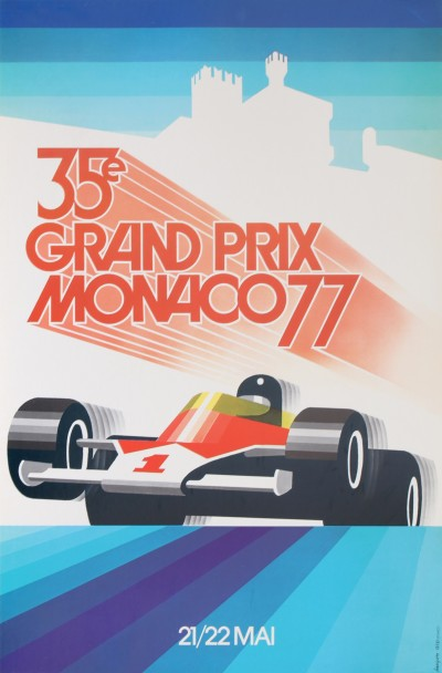 En vente :  GRAND PRIX AUTOMOBILE MONACO 1977
