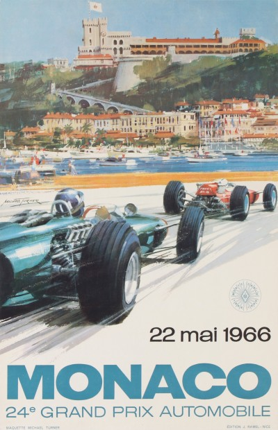 En vente :  GRAND PRIX AUTOMOBILE MONACO 1966
