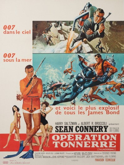 En vente :  JAMES BOND OO7 FILM OPERATION TONNERRE - THUNDERBALL