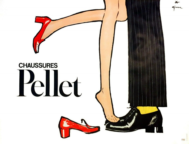 En vente :  PELLET CHAUSSURES RED AND BLACK SHOES