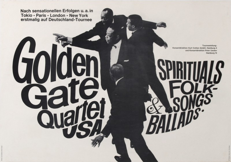 En vente :  GOLDEN GATE QUARTET USA  JAZZ  GOSPEL  NEGRO SPIRITUO