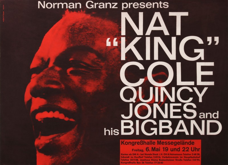 En vente :  NORMAN GRANZ FESTIVAL JAZZ  NAT KING COLE  QUINCY JONES