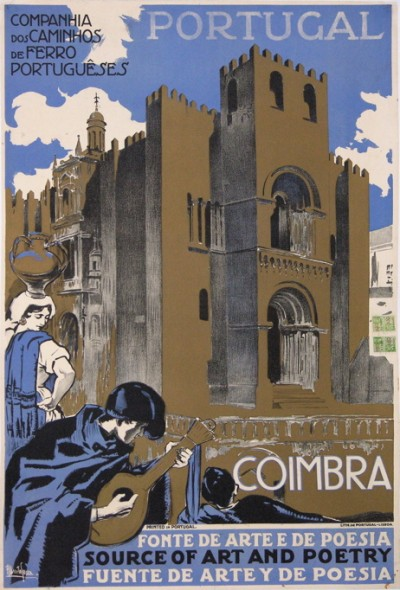 En vente :  PORTUGAL COIMBRA SOURCE OF ART AND POETRY