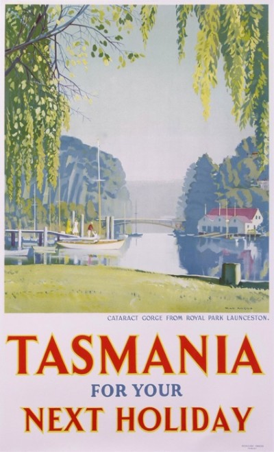 En vente :  TASMANIA FOR YOUR NEXT HOLIDAY CATARACT GORGE FROM ROYAL PARK LAUNCESTON