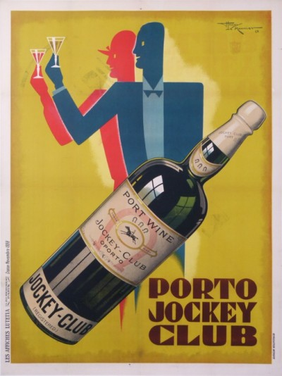 En vente :  PORTO JOCKEY CLUB -PORT WINE OPORTO