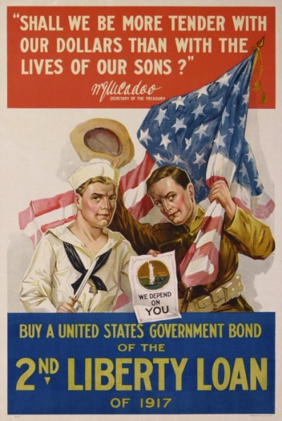 En vente :  BUY A UNITED STATES GOVERNMENT BOND OF THE 2nd LIBERTY LOAN OF 1917