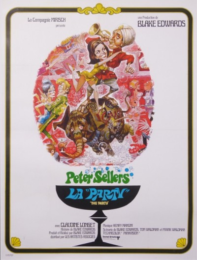 En vente :  LA PARTY DE BLAKE EDWARDS PETER SELLERS CLAUDINE LONGET