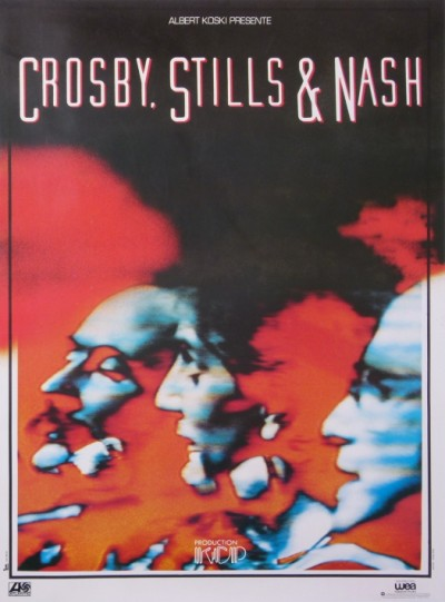 En vente :  CROSBY STILLS AND NASH PRESENTÉ PAR ALBERT KOSKI  KCP PRODUCTION