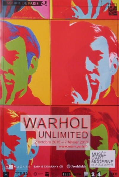 En vente :  WARHOL UNLIMITED PARIS 2015 MUSEE ART MODERNE